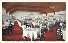 Palm Springs California dining room The Desert Inn antique pc Z23512