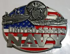 United States Navy Usn Belt Buckle Great Designs & Quality Amazing New