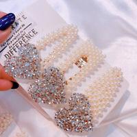 Women Fashion Hair Clips Pins Hairpin Slide Barrette Heart Hair Grip Accessories