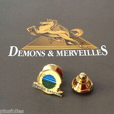 Pin's Folies * Alimentation Food  Logo Gervais Danone distinctif Doré