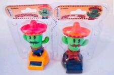 Solar Powered Dancing Toys Western AZ CA Mexico FUNNY CACTUS New In Blister Pack