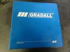 Gradall XL3100 Hydraulic Excavators Parts Manual