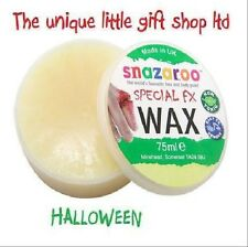 Halloween Fx Wax Face Paints Special Effects 75ml 18ml kit glitter tattoo kit