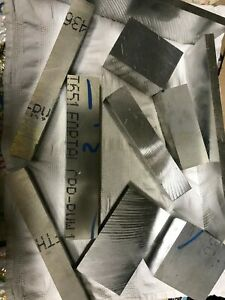 Aluminum Plate 15 Pound Hobby Box Assortment 7075 Scrap Plate  Fortal T651