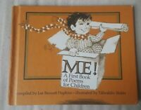 Vtg 1970 Me! A First Book of Poems for Children Weekly Reader Hardcover Book