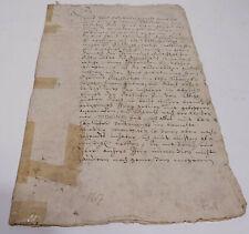 Urkunde Mettlach 1617: Tabellion über Abt v. Mettlach, Vogtmeier von Büdingen