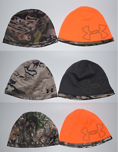 Under Armour Men's UA Reversible 2.0 Beanie Scent Control Hunting OSFM Defective