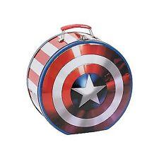 Vandor 26970 Marvel Shield Shaped Tin Tote, Multicolored ST