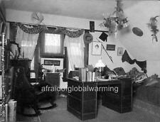 Photo 1899 Univ Calif Berkeley Delta Upsilon Frat Room