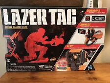 Lazer Tag Live Action Video Game Laser Combat Single Blaster Pack Hasbro New