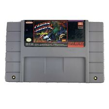 SNES Captain America and The Avengers Game Cartridge *Authentic/Cleaned/Tested*