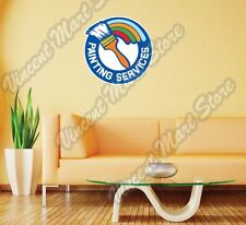 "Painting Services Painter Construction Wall Sticker Room Interior Decor 22""X22"""