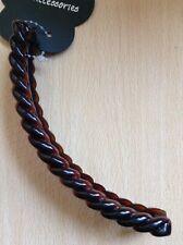 A ecaille de tortue marron ORGE torsion Banane Pince cheveux