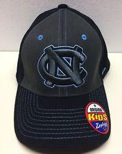 YOUTH North Carolina Tar Heels Cap Zephyr Navy Pregame 2 Stretch Fit Hat