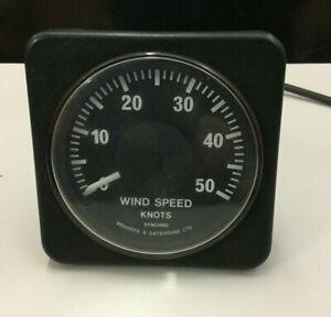 SYNCHRO -Brookes & Gatehouse ltd Wind Speed Knots - Wind Instrument