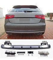 wabengrill Audi A3 für 8V S-Line S3 Look Diffusor Heckansatz 3 Tür Sportback =11