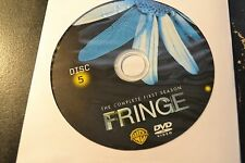 Fringe First Season 1 Disc 5 Replacement DVD Disc Only