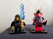 Lego Ninjago Mini Figure Lot of 2 Samurai X Secert Warrior , Lloyd Garmadon Mini