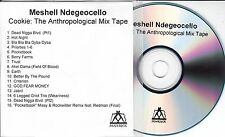 MESHELL NDEGEOCELLO Cookie The Anthropological Mix Tape UK 16-trk promo test CD