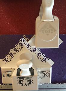 LOT MARTHA STEWART XL TWIRL LOOP BORDER CORNER CARDS SCRAPBOOK CRAFT PAPER PUNCH
