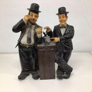 Laurel & Hardy Plaster Statue Figurines Modern #209