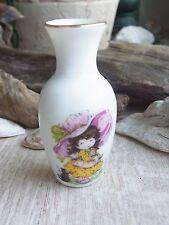 Porzellan Vase Miss Pettycoat? 1:12 Puppenstube Puppenhaus -evtl Barbie?