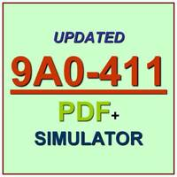 Adobe Analytics Developer Exam 9A0-411 Test QA SIM PDF+Simulator