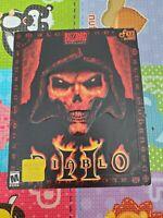 Diablo 2 Big Box launch edition Diablo ii Expansion Lord of Destruction Disk