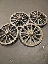 Cast Iron wheels for Wagons , Carts , Cars,  old New stock 12 spoke