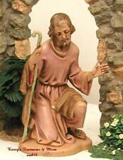 "Fontanini Depose Italy 7.5"" Series Joseph 1983 Nativity Village Figure 52811"
