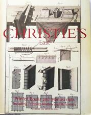 Christie's Auction Catalog Enterprise-8549: Printing History March 2001 New York