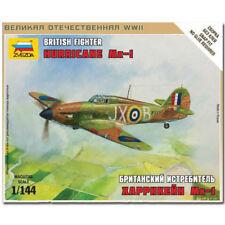 ZVEZDA 6173 British Fighter Hurricane Mk1 Model Kit 1:144