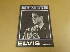 MAGAZINE 1977 / ELVIS PRESLEY SOUVENIR + 100 ADRESSES BELG. COUREURS WIELRENNERS
