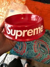Supreme Ceramic Dog Bowl - SS11 - Red - New - 100% Authentic