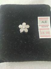 Charm Pandora flor y circonita