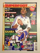 SUPERFOOT MAG N°37 2007 ROBINHO REAL MADRID  - KAKA MILAN AC
