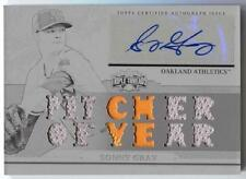 Sonny Gray 2014 Triple Threads AUTOGRAPH Auto Jersey PATCH WHITE WHALE # 1/1
