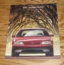 Original 1996 Chevrolet Lumina Sales Brochure 96 Chevy