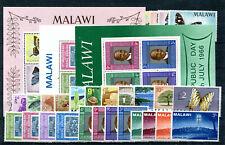 Malawi Jahrgang 1966 postfrisch in den Hauptnummern kompl................ 2/4029