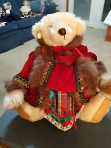 RARE- GORHAM- BEVERLY PORT- Hollybeary Kringle  Musical Bear- LE 1553/2500