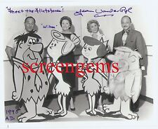The Flintstones photo signed Jean Vander Pyl voice Wilma Hanna Barbera animation