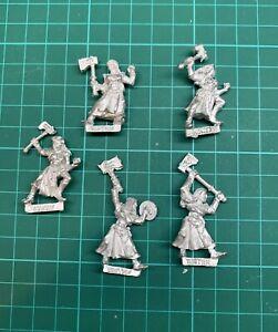 Warhammer Fantasy Mordheim Sisters of Sigmar Sigmarite metal X5 OOP