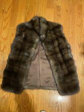 J. Mendel sable fur vest