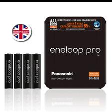 AAA Panasonic eneloop PRO Battery (4 pack) 930mAh **5th Generation BK-4HCDE**