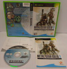 Console Microsoft XBOX Play PAL ITALIANO Konami - Metal Gear Solid 2 Substance -