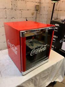 !! Partykühlschrank HUSKY COOL CUBE Mini Kühlschrank Coca Cola/ 48L / A+