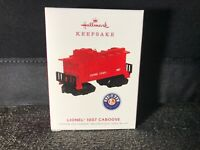 Hallmark 2019 Lionel 1007 Caboose Car Keepsake Ornament Metal Train