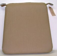 """Outdoor Patio Seat Pad ~ Camel ~ 17.5/14.5"""" x 17.5"""" x 2.5"""" **NEW**"""
