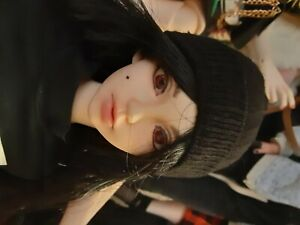 1/3 SD BJD Handmade Black Beanie Hat
