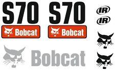 (ORIGINAL LOOK) BOBCAT S70 FULL DECAL STICKER SET KIT SKID STEER
